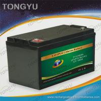 China 12V 100Ah LiFePO4 Battery  For Solar On - Grid / Off - Grid Power Projects on sale