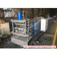 Customized Purlin Roll Former , Sheet Metal Roll Forming Machines For Column Support Manufactures