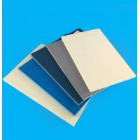 Wall High Density PVC Board Sheets Anti - Aging For Outdoor Decoration Manufactures