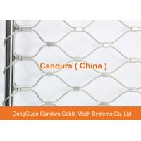 Flexible Stainless Steel Wire Rope Fence Mesh For Animal Enclosure Manufactures