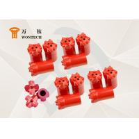 Thermal Borehole Drill Bit , Top Hammer Drill Bits Abrasion Resistance Manufactures