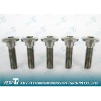 Custom-made Titanium Fastener bolts , washer , nuts For industrial field Manufactures