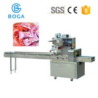 China Horizontal Flow Candy Wrapping Machine Touch Screen High Speed 2.4KW on sale