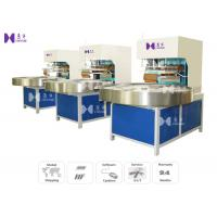 LED Light 27.12MHZ Blister Packaging Machine Automatic Turntable 4 Work Stations Manufactures