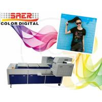 Pigment Ink T Shirt Digital Garment Printer With Three Working Tables Manufactures