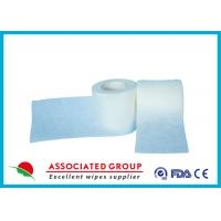 China Polyester / Viscose / PP Spunlace Non Woven Roll Fabric Cross Lapping 30~120GSM on sale