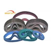 P 24 - 1500 Abrasive Sanding Belts Non Woven Nylon With Zirconia Alumina Oxide Manufactures