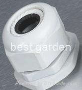 Waterproof union for plastic cables Manufactures