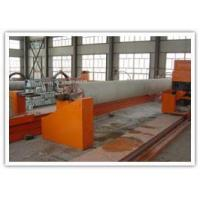 The new type computer controlledFRP(GRP) pipe winding production line by add sand from under: