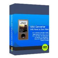 AAADVD Movie To Zune Video Converter