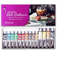 14 Oil Colour Tube Set Manufactures