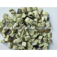 Buy cheap Freeze Dried Vegetables Freeze Dried Aubergine Diced from wholesalers