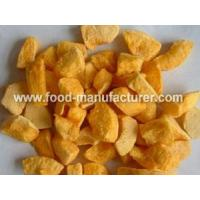 Buy cheap Freeze Dried Fruit Freeze Dried Yellow Peach from wholesalers