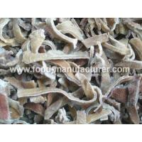 Buy cheap Freeze Dried Mushroom Freeze Dried Black Fungus Strips from wholesalers