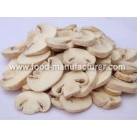 Buy cheap Freeze Dried Mushroom Freeze Dried Agaricus Bisporus Slices from wholesalers