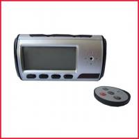 China Alarm Table Clock Camera with High Resolution wholesale