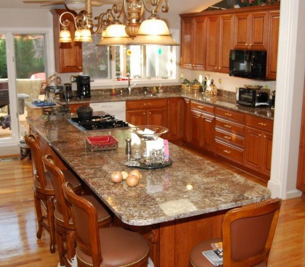 Quality Chocolate Granite Bourdux for sale