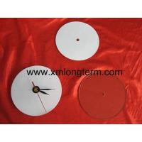 China Sublimation Glass Clock Face wholesale