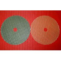 China Fiberglass reinforced mesh discs for grinding wheel on sale
