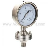 Buy cheap Diaphragm Seal manometer from wholesalers