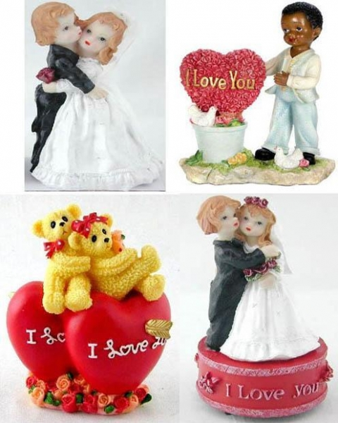 Quality Polyresin Valentines Day Gifts (WK048) for sale