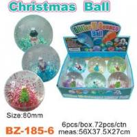 Glitter Bouncing Ball with Christmas Manufactures