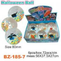Colorful Beads Bouncing Ball With Halloween Manufactures