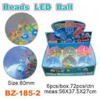 Colorful Beads Bouncing Ball With Led Manufactures