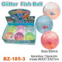Glitter Bouncing Ball with Fish Manufactures