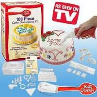 Kitchenware MY-TV0208 100 Piece Cake Decorating Kit