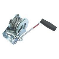 Quality 600 lbs boat winch with cable for sale