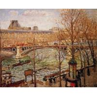 Impressionist(3830) The_Pont_du_Carrousel,_Afternoon Manufactures