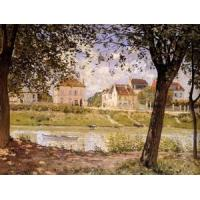 Impressionist(3830) Alfred_Sisley_Art_31 Manufactures