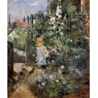 Impressionist(3830) Child_in_the_Rose_Garden Manufactures