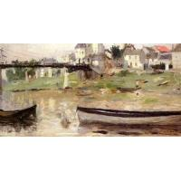 Impressionist(3830) Boats_on_the_Seine Manufactures