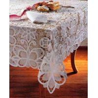 China organdy tableclothWe are factory and exporter of tablecloth, doily,placemat, showercurtain, kitchen curtain,curtaijbed sheet sets, bed cover,cushion cover, tissue box coveretc. Such as Battenlace tablecloth, crochet tablecloth, on sale