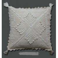 China crochet cushion cover on sale