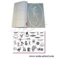 Airbrush Tattoo Stencil and Ink 5 Manufactures