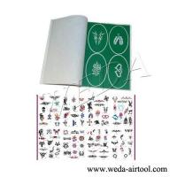 Airbrush Tattoo Stencil and Ink 1 Manufactures