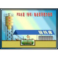 Buy cheap Ready Mix Concrete Plant Bulk Cement Conveying Tank from wholesalers