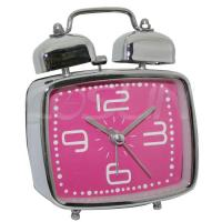 China Plate Twin Bell Alarm Clock wholesale