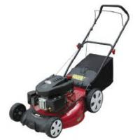 China 21 inch 4-in-1 Hand Push Lawnmower with high wheel on sale