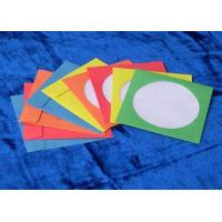 Buy cheap colorful paper cd sleeves envelopes from wholesalers