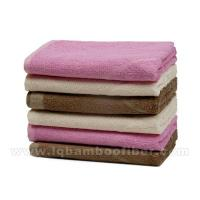 China Bamboo Fiber Towel Series Bamboo Fiber Jacquard Towel LQMJ1005 wholesale