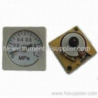 Buy cheap square pressure gauge Square pressure gauge from wholesalers