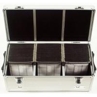 CD & DVD Case ALUMINUM 390 CD DVD-R STORAGE CASE WALLET HOLDER DJ BOXTough light weight aluminum, CD storage case / DVD storage case with handle and lock. Comes with195 hanging CD holders which take 2 disks each. Index inserts for quick identificatio Manufactures