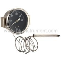 China Bimetal thermometer Gas Filled Thermometer
