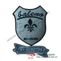 China Embroidery badges/woven patches wholesale