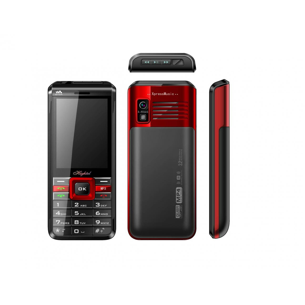 China Dual sim mobile phone with dual band FM Radio Bluetooth Camera H869+ on sale