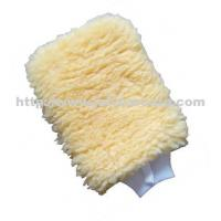 China Supersoft Synthetic Wool Wash Mitt on sale